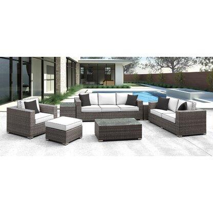 Outdoor Sofa Sets Luxury Furniture Perigold
