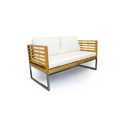 Balerna 5 Piece Teak Sofa Set With Cushions