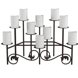 Candles Fireplace Candelabra Wayfair