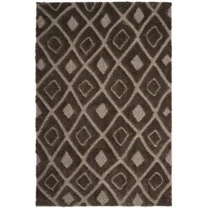 Helms Brown/Beige Area Rug