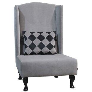 Artdeko Wingback Chair By Happy Barok