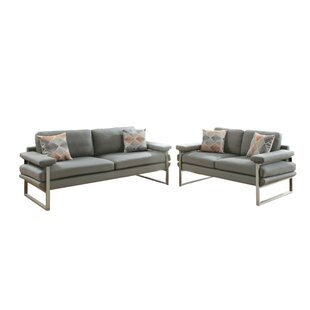 Pantazis 2 Piece Living Room Set by Orren Ellis