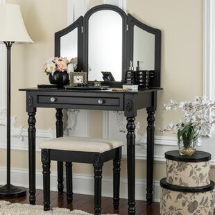 Darby Home Co Falken Vanity Set with Mirror