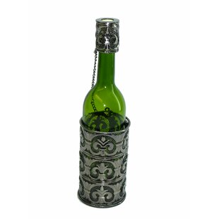 Fleur De Lis Patterned 1 Bottle Tabletop ..