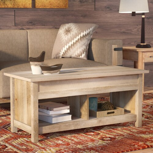 Greyleigh Tilden Lift Top Coffee Table with Storage (Lintel oak)