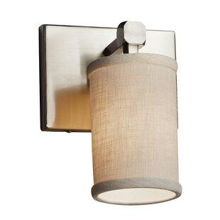 Ebern Designs Favela 1-Light LED Armed Sconce