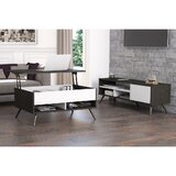 Doucet Lift Top 2 Nesting Table with Storage by Orren Ellis