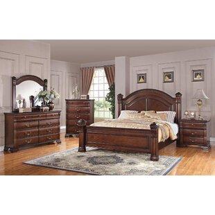 Charlton Home Montana Storage Panel Configurable Bedroom Set