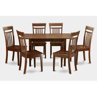 Three Posts Phoenixville 7 Piece Extendable Dining Set