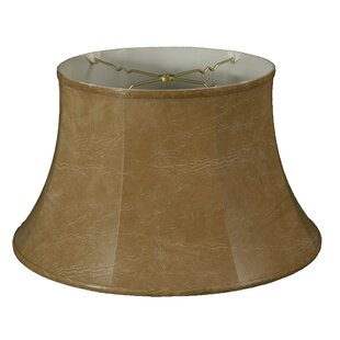 Affordable 17 Faux Leather Bell Lamp Shade By Alcott Hill