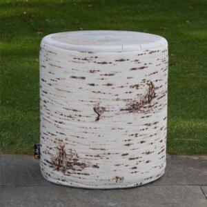 Outdoor Birch Stool