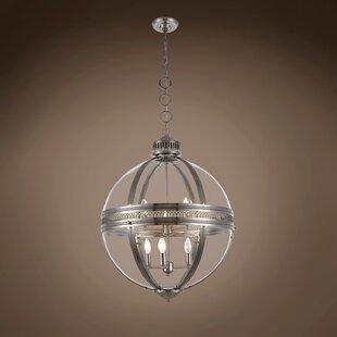 Fedler 6-Light Globe Chandelier by Darby Home Co