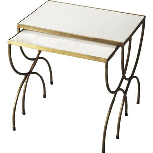 Darroll 2 Piece Nesting Tables By House of Hampton