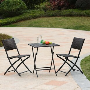 Pelley 3 Piece Bistro Set