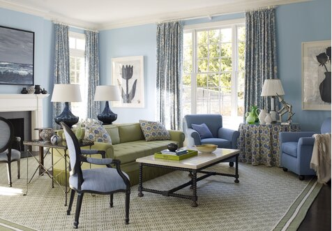 Living Room, French Country Design Ideas   Wayfair