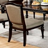 Portola Upholstered Side Chair in Tan (Set of 2) by Darby Home Co