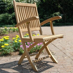 Rockport Teak Patio Dining Chair (Set of 2)