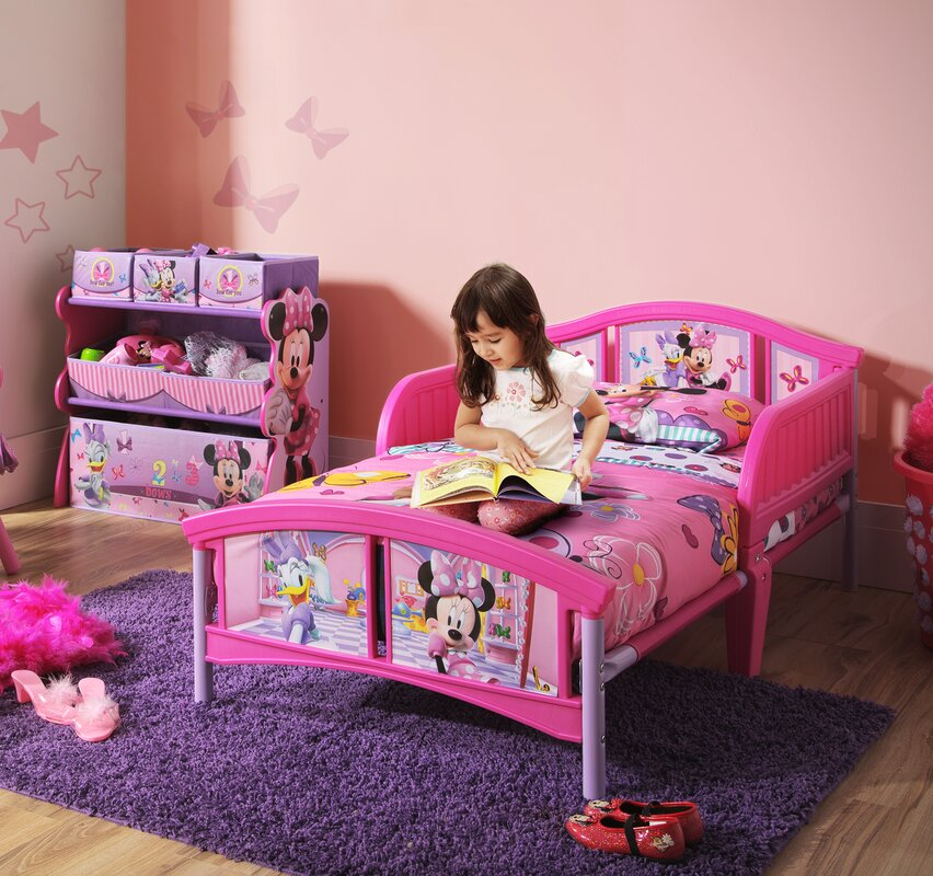 Merveilleux Disney Minnie Mouse Toddler Bed