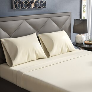Janey Elegance Satin Sheet Set (Set of 4)