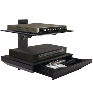 Atlantic Double Component Shelf  with Drawer