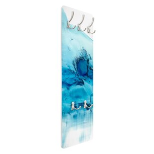 Blue Current II Wall Mounted Coat Rack By Symple Stuff