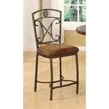 Doorfield 24 Bar Stool (Set of 2) by Fleur De Lis Living
