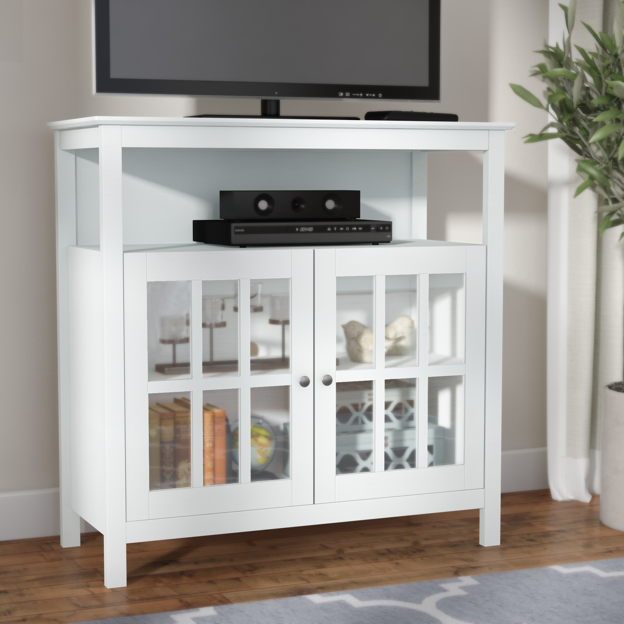 Andover Mills Rangely Tv Stand For Tvs Up To 40 Reviews Wayfair
