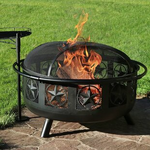 Dayton All Star Steel Wood Fire Pit by Millwood Pines