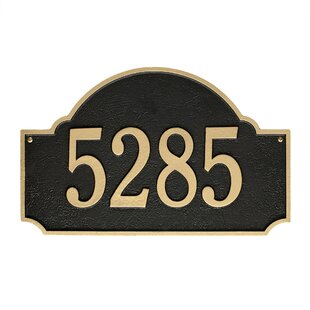 Address Plaques & Signs You'll Love in 2019 | Wayfair