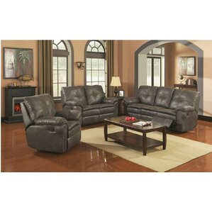 Comfort Zone 3 Piece Living Room Set by Sunset Trading