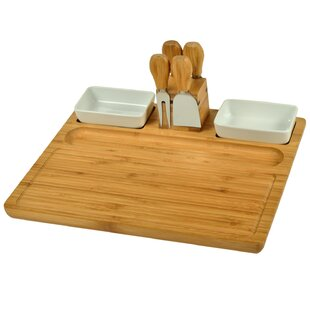 Sherborne 7 Piece Cheese Board and Platter Set