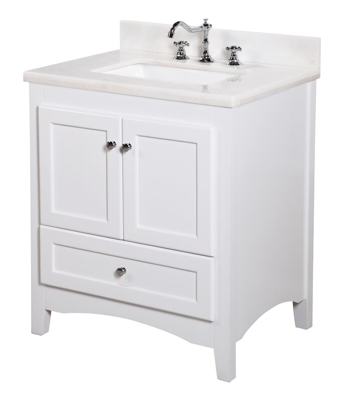 Abbey 30 Single Bathroom Vanity Set
