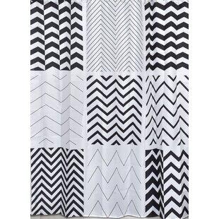 Zigzag Single Shower Curtain