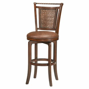 Ali 26.5 Swivel Bar Stool World Menagerie