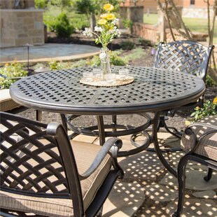 Palmview Round Dining Table by Fleur De Lis Living