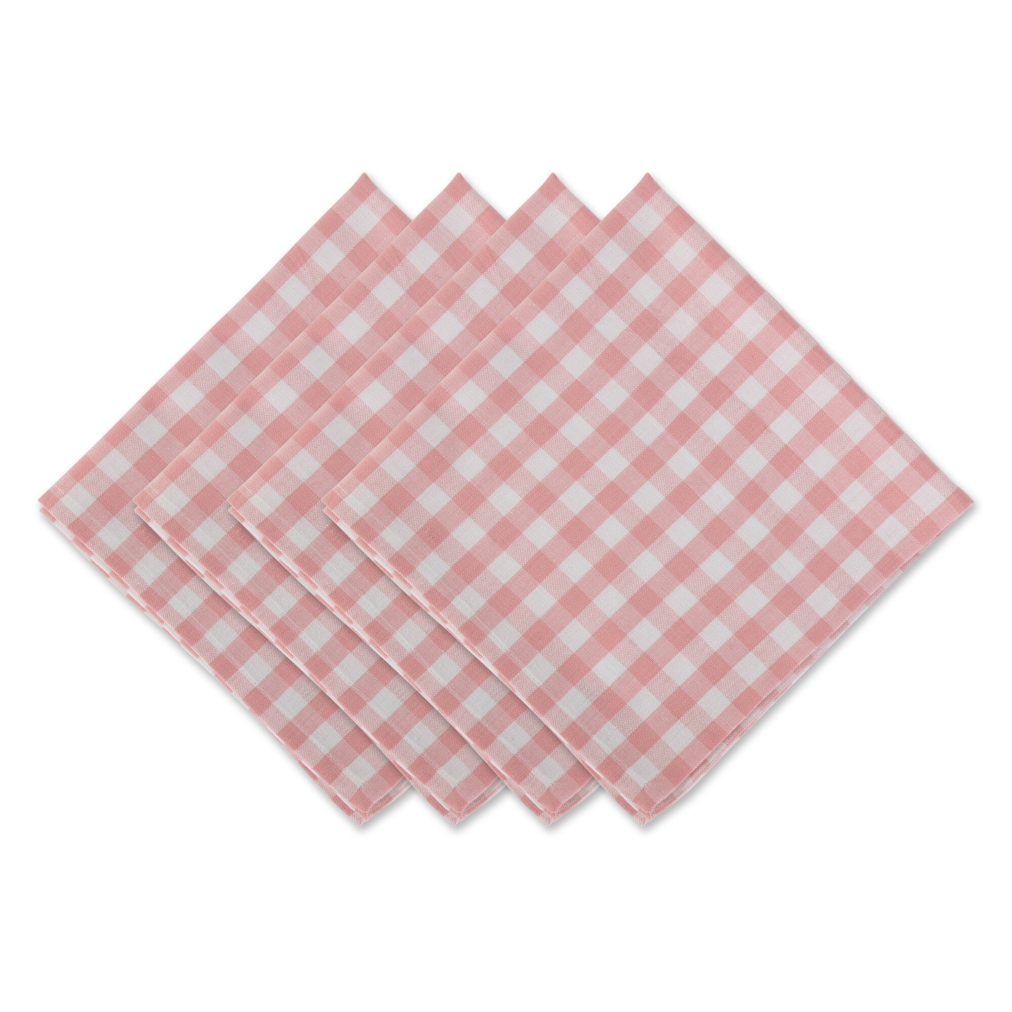 Cotton Pink Cloth Napkins From 30 Until 11 20 Wayfair Wayfair