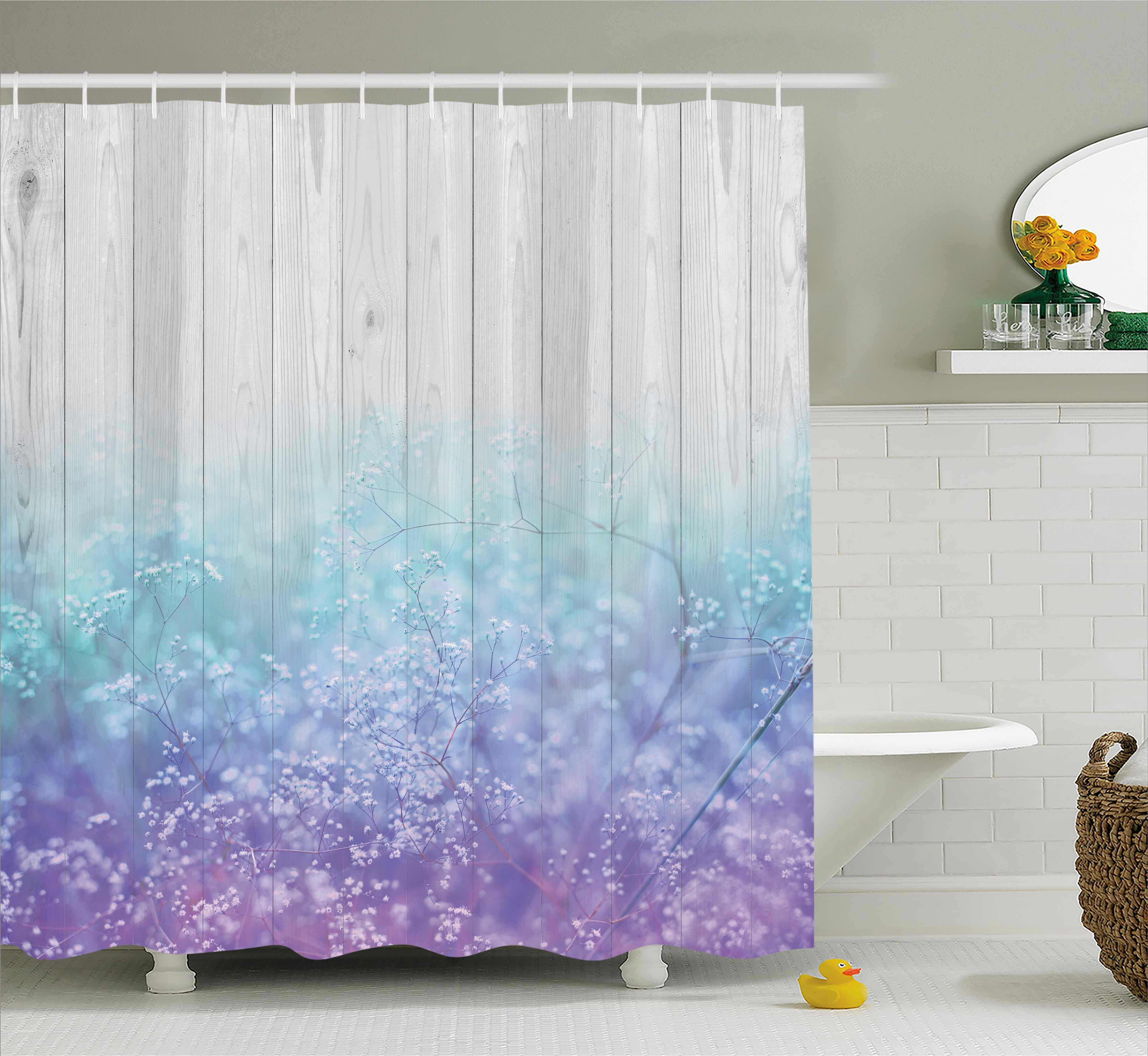 Boughner Abstract Dreamy Petals Shower Curtain Hooks
