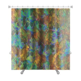 Kilo Abstract Flower Premium Single Shower Curtain
