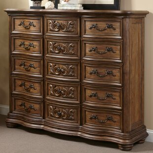 Alderwood 15 Drawer Chest