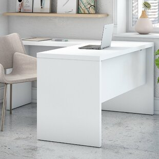 Price Check Echo L-Shaped Desk Shell By Kathy Ireland Office by Bush