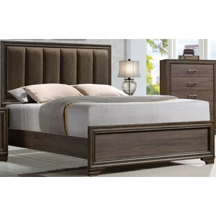 Foundry Select Layla II Padded Upholstered Panel Bed