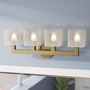 Teegan 4-Light LED Vanity Light by Mercer41