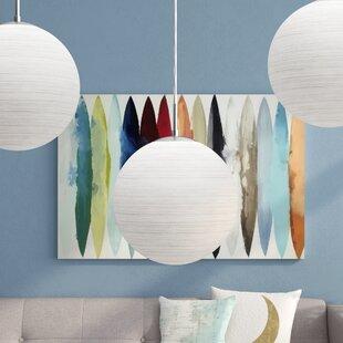 Jaelyn 1-Light Globe Pendant by Mack & Milo