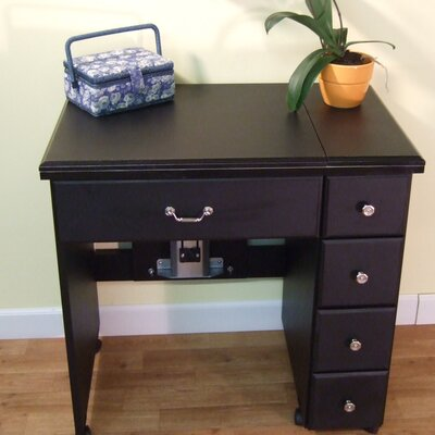 Auntie Laminate Sewing Table Arrow Sewing Cabinets
