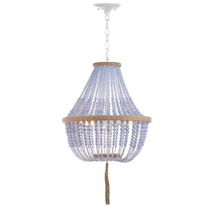 Leyva 3-Light Empire Chandelier by Mistana