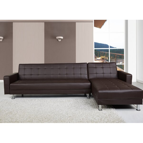 Dark Brown Sectional Sofa | Wayfair