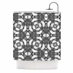 'Twiggy Boxes' Single Shower Curtain