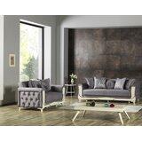 Higuera 2 Piece Sleeper Living Room Set by Rosdorf Park