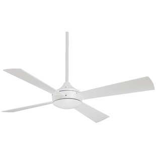 Reviews 52 Aluma 4 Blade LED Ceiling Fan By Minka Aire