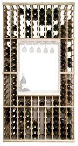 Vintner Series 130 Bottle Floor Wine Rack..